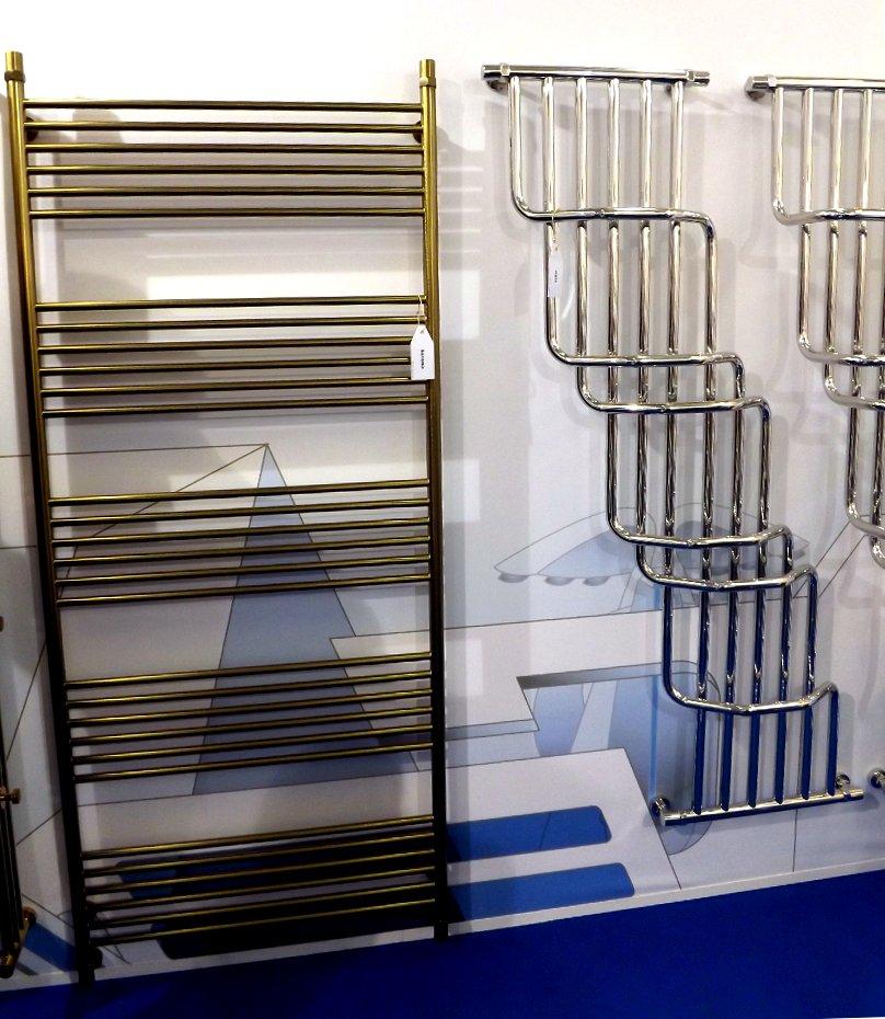 Полотенцесушители Сунержа на московской выставке МосБилд 2014. Варианты декоративных покрытий и форм