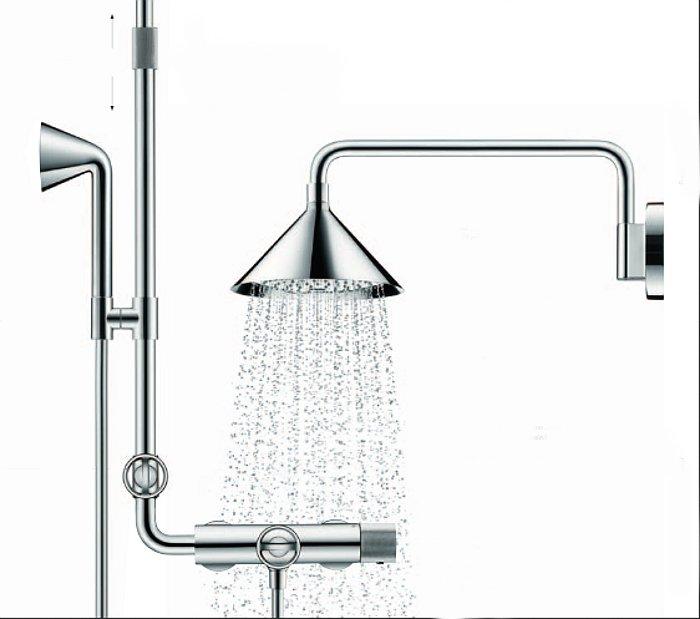 Коллекция для душевой Hansgrohe Axor ShowerPipe от Front