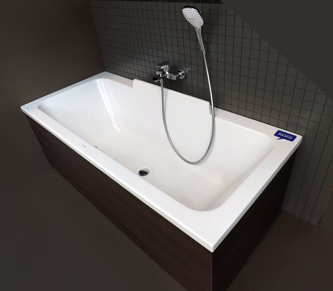 Немецкий производитель сантехники Duravit представил ванну с возможностью звучания музыки, указав пин-код подключения к Блютус-устройству ванны, для посетителей, желающих попробовать звучание музыки со своих смартфонов