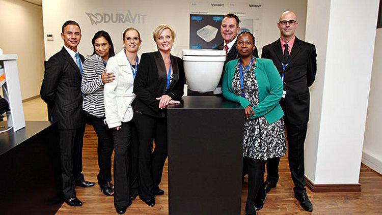 Шоурум Duravit в Йоханнесбурге (ЮАР), где представлена санкерамика этой немецкой компании