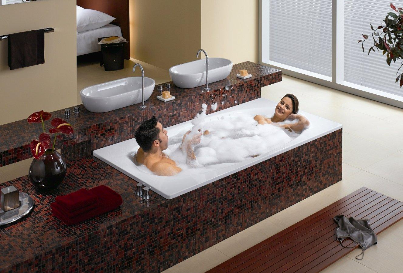 Принимают ванну вместе 19 фотография