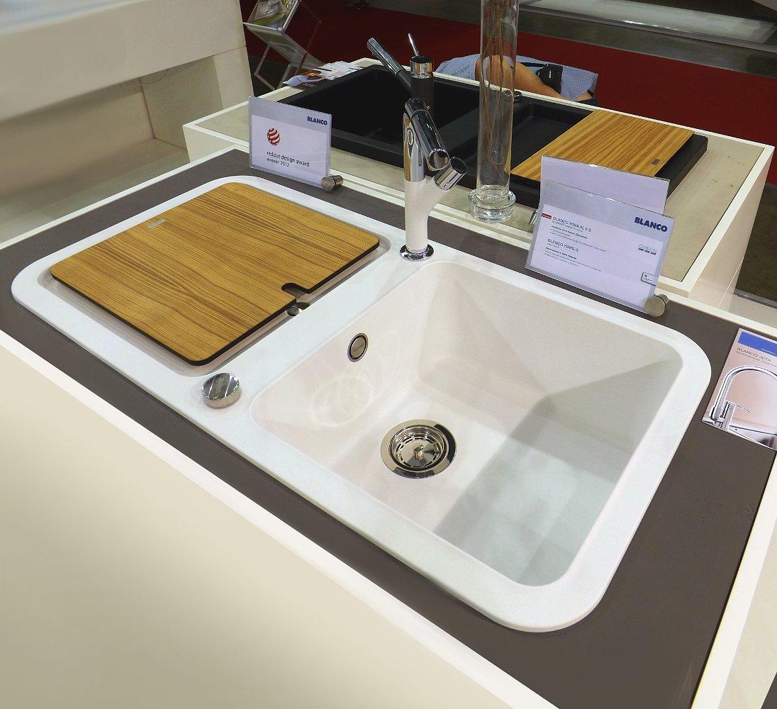 Кухонная мойка YOVA XL 6S и смеситель YOVIS-S. Вид А