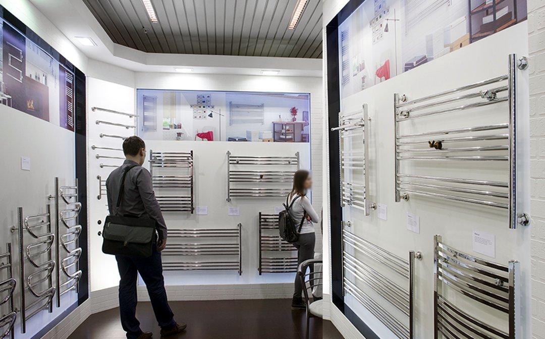 Полотенцесушители большой ширины «Сунержа», представленные на международной строительной выставке «МосБилд 2016»