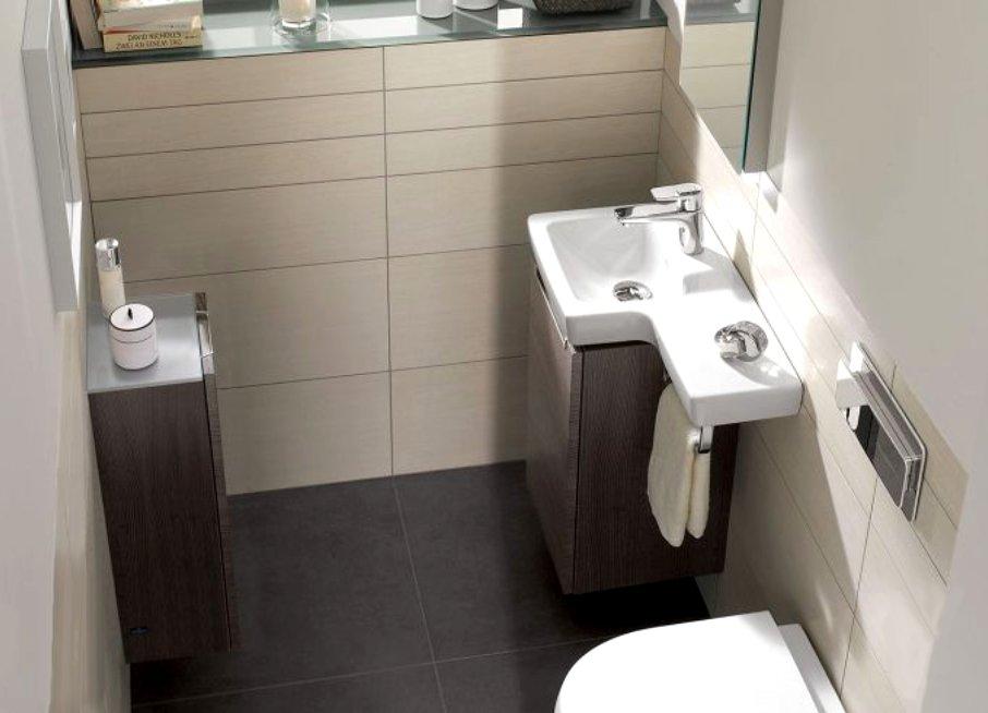 Как маленькие ванные комнаты могут выглядеть большими. Большие плитки увеличивают