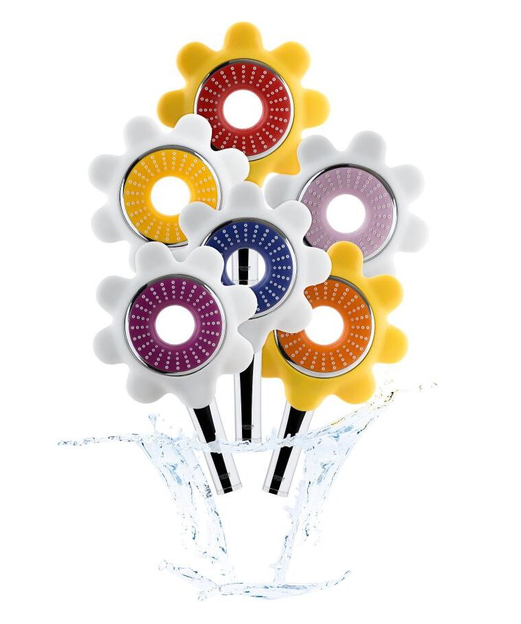 Коллекция ручных душевых леек Rainshower Flower