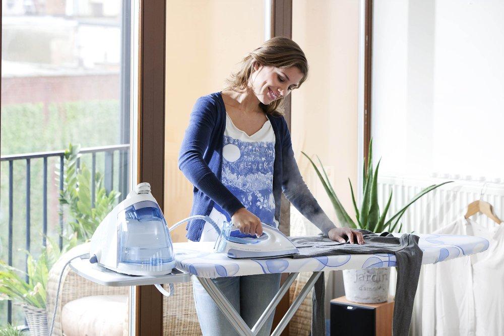 Процесс использования гладильной доски от Brabantia. Вид А