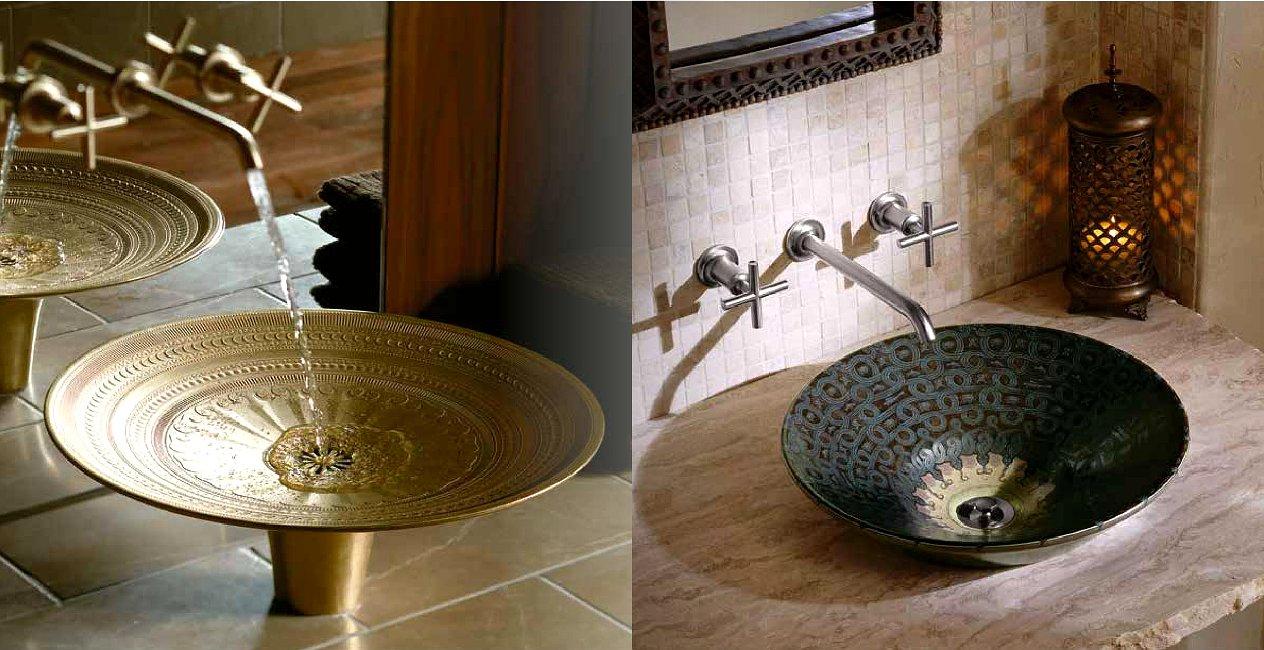 Раковины серии Vasques d'Art из каталога Jacob Delafon - 2014