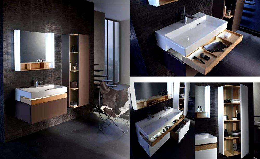 Сантехника и мебель для ванной из коллекции TERRACE в каталоге Jacob Delafon - 2014