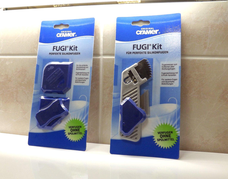 Инструменты профессиональные от Cramer для высококачественного заполнения и заглаживания всех типов силиконовых швов вокруг саноборудования на кухне и в ванной комнате