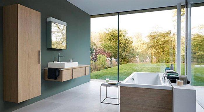 Саноборудование для ванной из серии Duravit VERO 2014 - общий вид