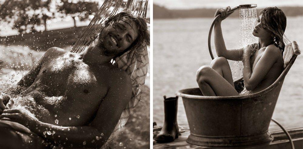 Фотоиллюстрации для календаря Hansgrohe 2015 - июль и август
