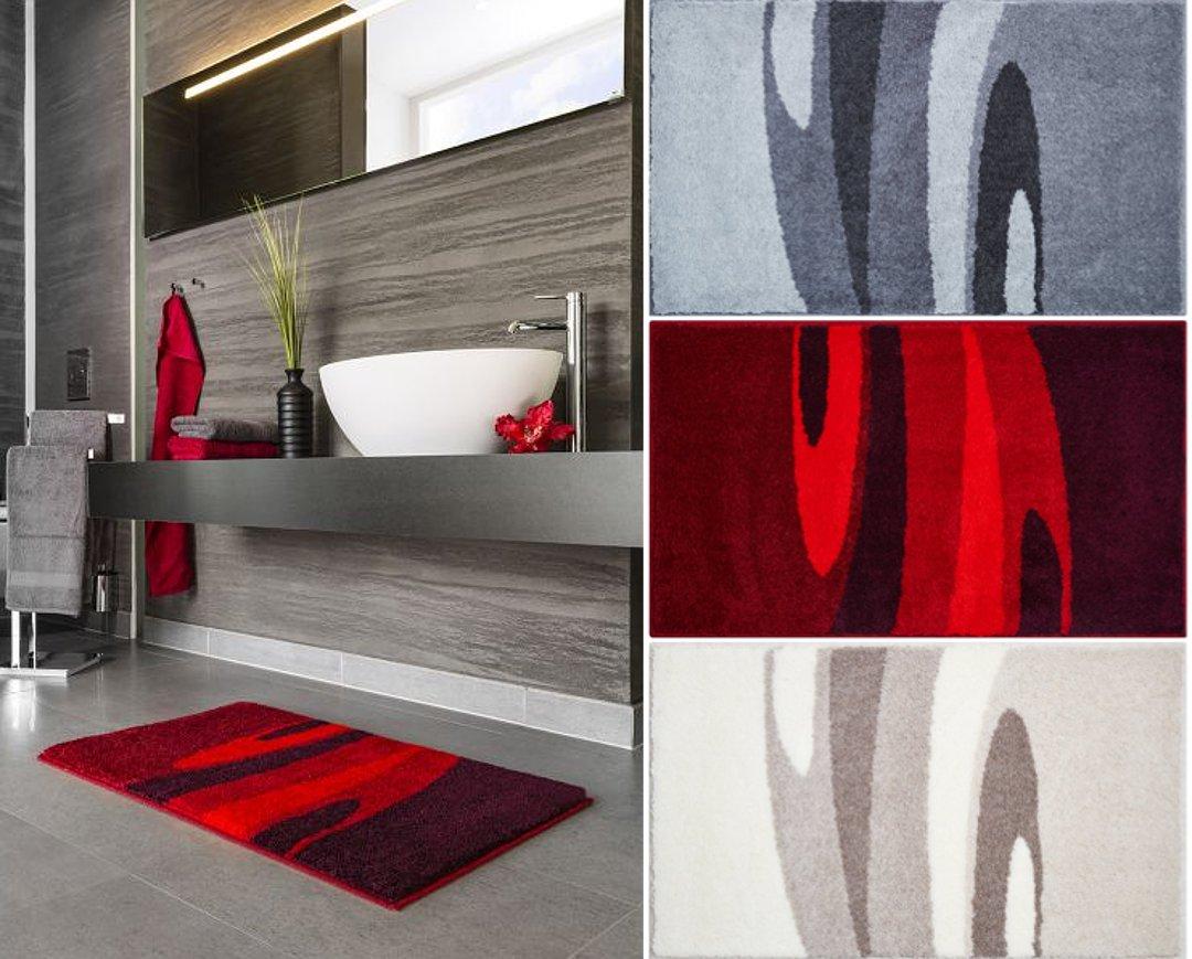 Коврики для ванной из коллекции LATISANA от Grund 2017 года: в интерьере и по отдельности
