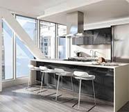 Иллюстрация к советам от Grohe по обустройству малогабаритных кухонь: естественное освещение