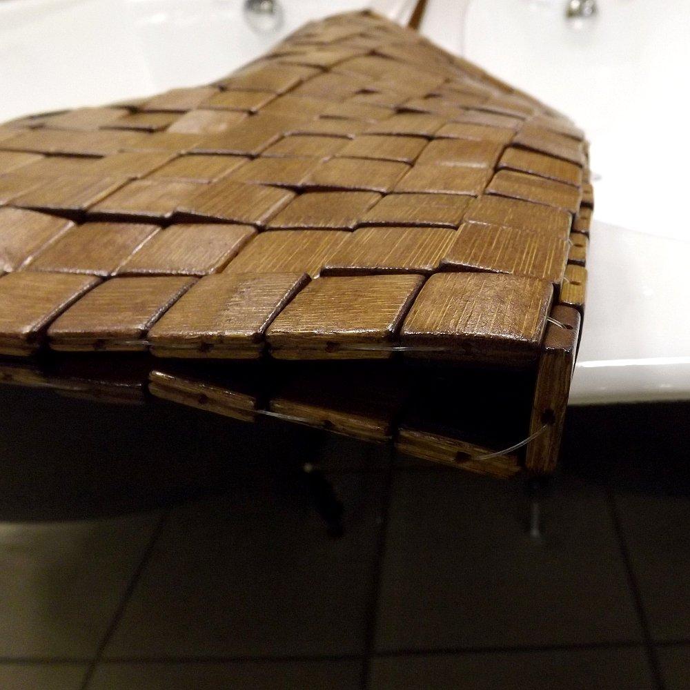 Коврик для ванной Kleine Wolke BAMBUS MOSAIK
