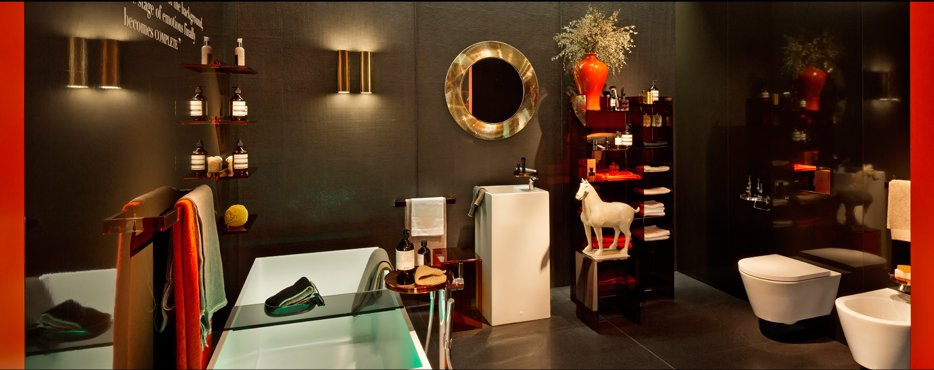Интерьер ванной комнаты от Laufen и Kartell - 2014