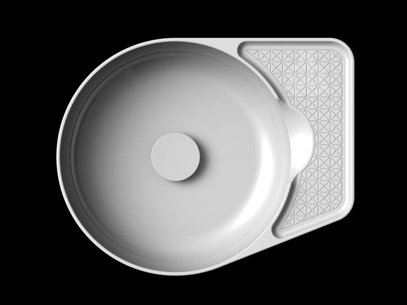 Раковина из SaphirKeramik от Laufen - 2014, спроектированная Константином Грчичем