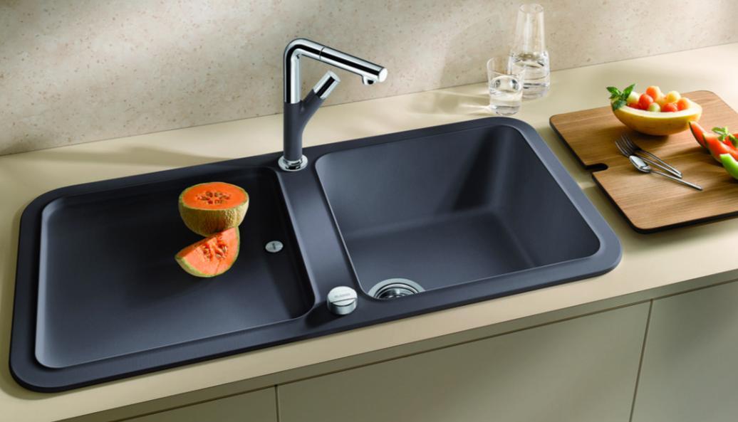Кухонная мойка Blanco YOVA XL 6 S. Вид А