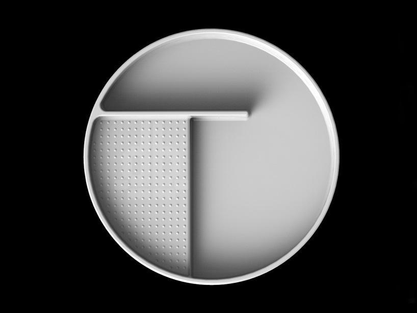 Круглая раковина из SaphirKeramik от Laufen - 2014, спроектированная Константином Грчичем