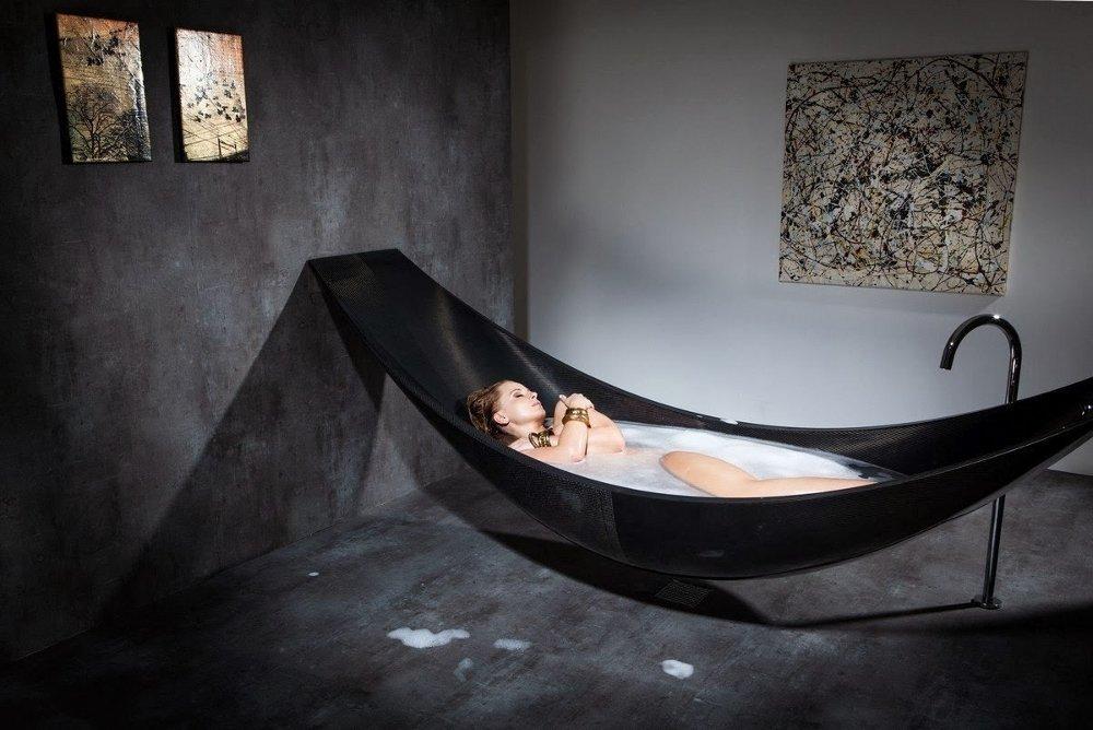 Ванна-гамак из углеволокна