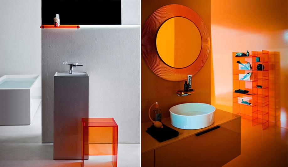 Интерьер ванной комнаты от Laufen и Kartell - 2014. Вариант А