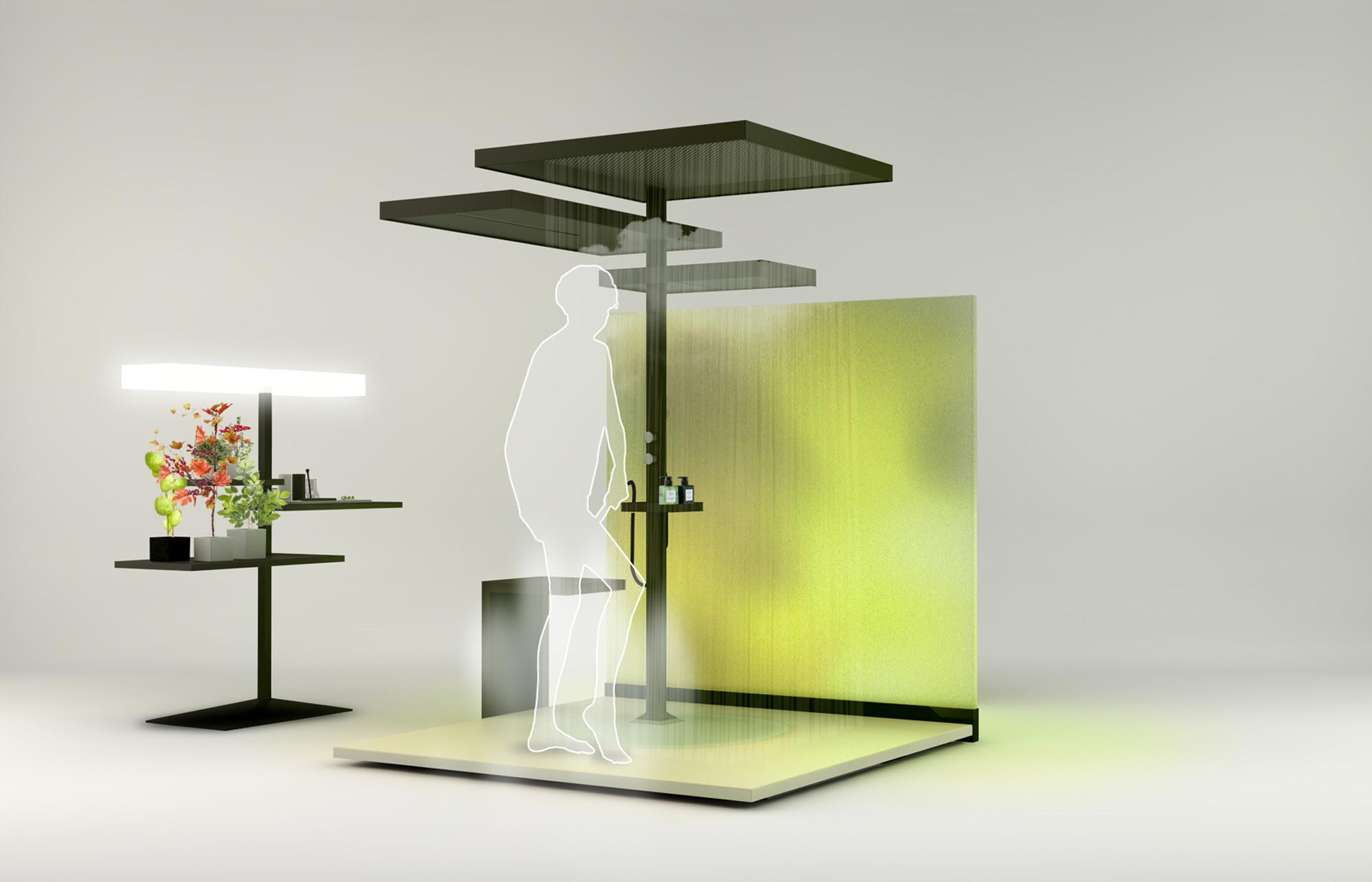 Проект Kengai, избранный в пятёрку лучших на конкурсе Hansgrohe Award 2014: Efficient Water Design