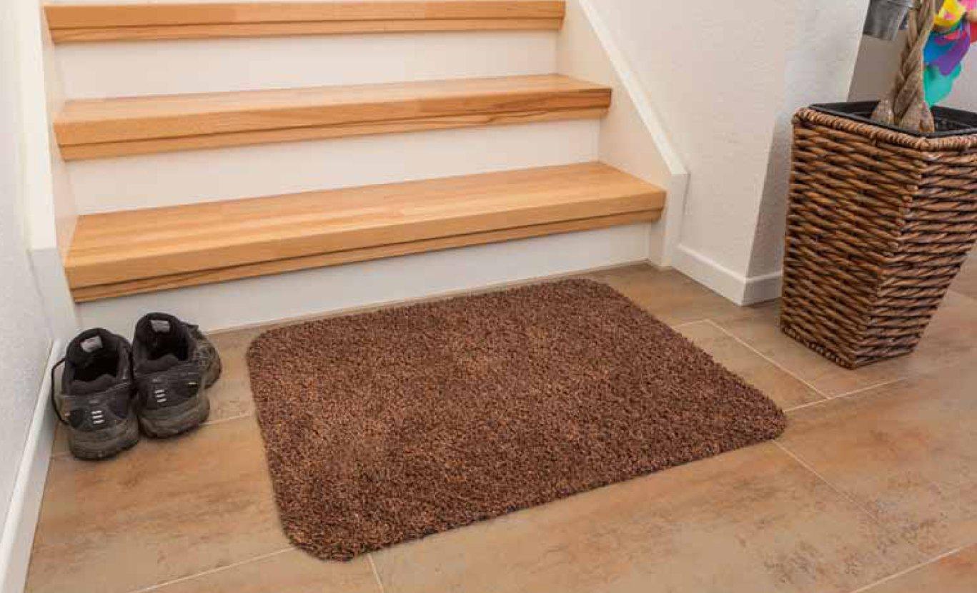 Придверный коврик Golze у лестницы