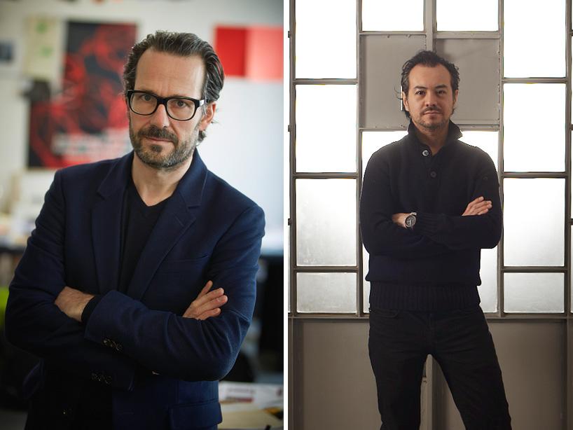 Авторы проектов раковин для Laufen - 2014 из SaphirKeramik: Константин Грчич (слева) и Тоан Нгуен