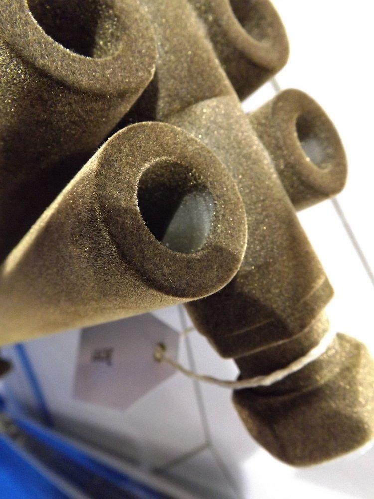 Полотенцесушители Сунержа на московской выставке МосБилд 2014. Техническое решение - тоннели в трубах для ускорения движения тёплых воздушных потоков