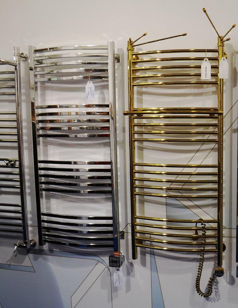 Полотенцесушители Сунержа на московской выставке МосБилд 2014. Варианты декоративных покрытий и аксессуаров
