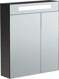 Verona SUSAN Шкаф зеркальный подвесной с подсветкой, ширина 65см, 2 дверцы - левая шире, артикул SU601L