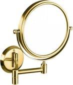 Зеркало косметическое Bemeta Retro, настенное, d13.3см, золото 106101698