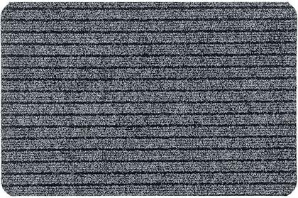 Коврик придверный 50x80см для помещения серый, полипропилен Golze Breitripsmatte 462-40-42