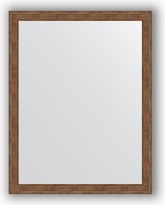 Зеркало 73x93см в багетной раме сухой тростник Evoform BY 1039