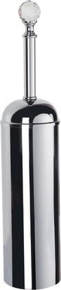 Ёрш для туалета настенный, хром с кристаллом swarovski TW Crystal TWCR220cr-sw