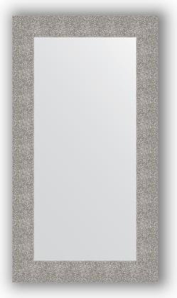 Зеркало в багетной раме 60x110см чеканка серебряная 90мм Evoform BY 3087