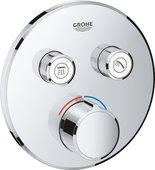 Смеситель для душа Grohe SmartControl, 2 потребителя, круглый, хром 29145000