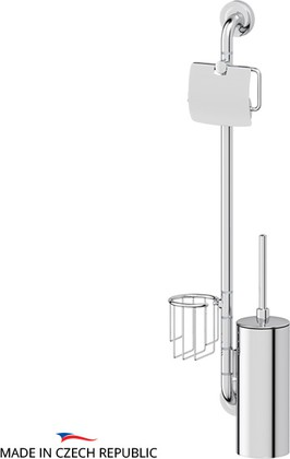 Стойка с аксессуарами для туалета, хром Ellux ELE 078