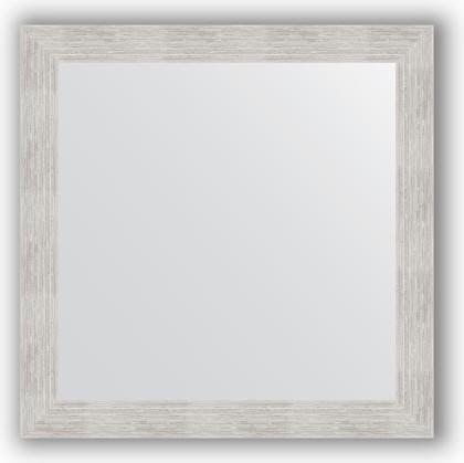 Зеркало в багетной раме 76x76см серебреный дождь 70мм Evoform BY 3240