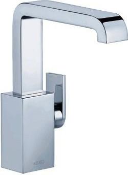 Однорычажный смеситель для умывальника с донным клапаном, хром Keuco EDITION 300 53002010000