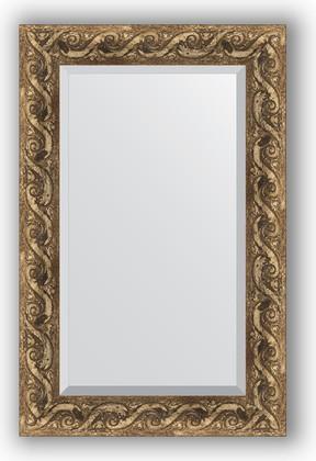 Зеркало 56x86см с фацетом 30мм в багетной раме фреска Evoform BY 1239