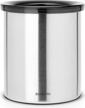 Настольное контейнер для мусора 1л стальной матовый Brabantia 371424