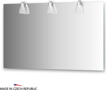 Зеркало со светильниками 120x75см Ellux ROM-A3 0215