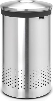 Бак для белья 60л стальной матовый Brabantia 105180