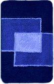 Набор из 3 синих ковриков: для ванной (50x80см), под туалет (50x40см) и на крышку унитаза (47х50см) Grund PEKING 691.93.018