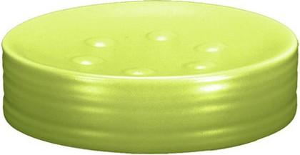 Мыльница керамическая зелёная Kleine Wolke SAHARA 5046625853