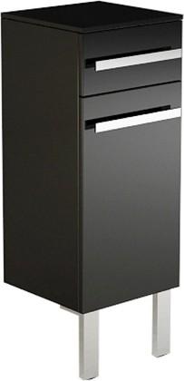 Шкаф средний напольный, ящик, корзина 35х34х96см Verona Lusso LS411