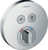 Смеситель для душа Hansgrohe ShowerSelect S на 2 потребителя, внешняя часть, хром 15748000