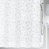Штора для ванной Spirella Blatt, 180x200см, полиэтилен, белый 1008183