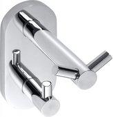 Крючок для ванной Bemeta Omega, двойной, хром 104405222