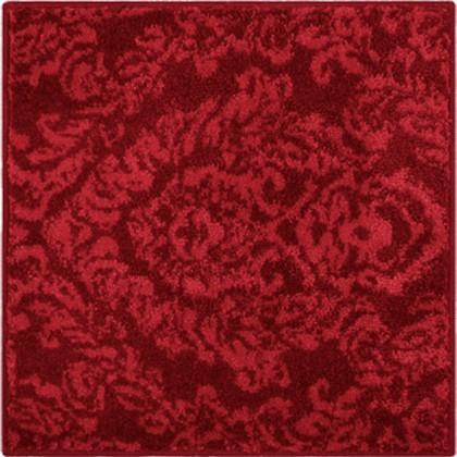 Коврик для ванной 55x55см красный Grund Tournai b3316-61007